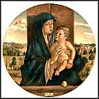 Madonna And Child - Bellini Collector Plate by Bellini