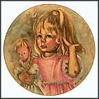 Pinky And Baby Collector Plate by Marian Carlsen