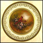 Cardinals - artist signed Collector Plate by Patti Canaris