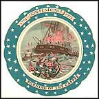Burning Of The Gaspee Collector Plate by Remy Hetreau