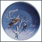 Two Turtle Doves Collector Plate by Remy Hetreau
