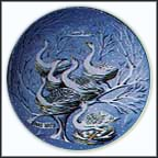 Six Geese A' Laying Collector Plate by Remy Hetreau