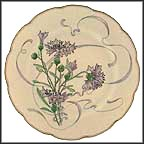 Wild Garlic Collector Plate by Felix Bracquemond