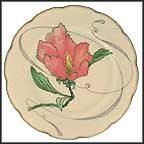 Hibiscus Collector Plate by Felix Bracquemond