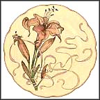 Lily Collector Plate by Felix Bracquemond