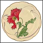 Poppy Collector Plate by Felix Bracquemond
