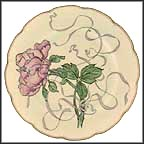 Peony Collector Plate by Felix Bracquemond