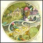 Aladin And The Wonderful Lamp Collector Plate by Liliane Tellier MAIN