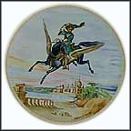 The Magic Horse Collector Plate by Liliane Tellier