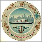 Normandie Collector Plate MAIN