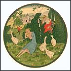 Goose Girl Collector Plate by Edmund Dulac MAIN