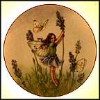 Lavender Collector Plate by Cicely Mary Barker MAIN