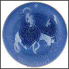 Flight Into Egypt Collector Plate