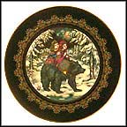 Ivan Tsarevitch And Marja Tsarevna Riding On The Bear, from Tsar Bear Collector Plate by Gero Trauth