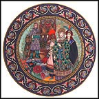 The Wedding Of Tsarevna Elena The Fair Collector Plate by Boris Zvorykin