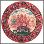 Tsarevich Ivan And The Beautiful Castle Collector Plate by Boris Zvorykin
