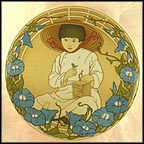 Child Of Asia Collector Plate