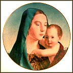Madonna And Child Collector Plate by Antonello da Messina MAIN