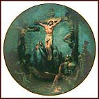 The Crucifixion Collector Plate by Noel Syers