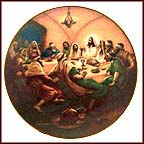The Last Supper Collector Plate by Noel Syers MAIN