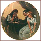 Fortune Teller Collector Plate by Norman Rockwell