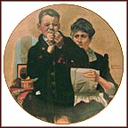 I Can Do It, Grandma Collector Plate by Norman Rockwell