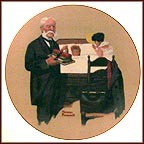 School Fever Collector Plate by Norman Rockwell