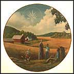 Amber Waves Of Grain Collector Plate by Ben Essenburg