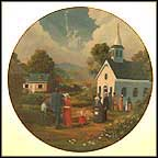 God Shed His Grace Collector Plate by Ben Essenburg