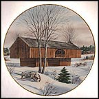 Appalachian Barn Collector Plate by Harris Hien MAIN