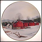 Connected Barn Collector Plate by Harris Hien
