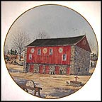 Lancaster Barn Collector Plate by Harris Hien