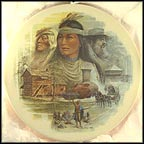 Nancy Ward - Cherokee Nation Collector Plate by Ben Hampton MAIN