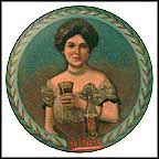 Dr. Pepper Girl Collector Plate MAIN