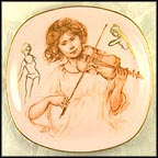 Allegro Collector Plate by Edna Hibel