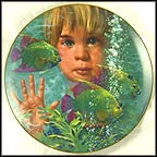 Fish Fantasia Collector Plate by Jack Woodson