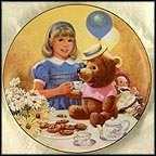 Teddy And High Tea Collector Plate by Jack Woodson