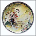 Pao-Chai Collector Plate by Zhao Huimin