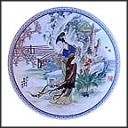 Tai-Yu Collector Plate by Zhao Huimin