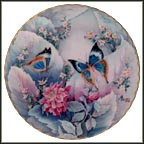 A Morning Dream Collector Plate by Jiang Xue-Bing MAIN
