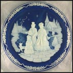 Christmas Vigil Collector Plate by Roger Akers