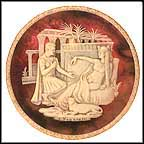 Antony And Cleopatra Collector Plate by Carl Romanelli