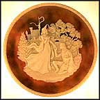 Lancelot And Guinevere Collector Plate by Carl Romanelli