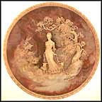 She Walks In Beauty Collector Plate by Gayle Bright Appleby