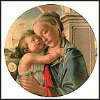 Madonna And Child By Boticelli Collector Plate by Sandro Boticelli