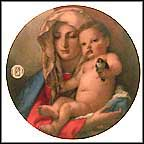 Madonna Of The Goldfinch By Tiepolo Collector Plate by Giovanni BattistaTiepolo