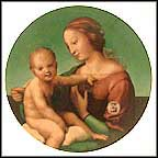 Madonna And Child By Raphael Collector Plate by Sanzio Raphael MAIN