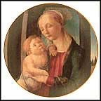 Madonna And Child By Botticelli Collector Plate by Sandro Boticelli