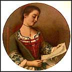 Lovely Reader Collector Plate by Jean Etienne Liotard