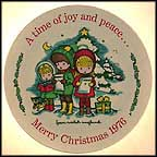 Christmas Carolers Collector Plate by Joan Walsh Anglund